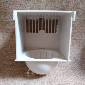 Kanári fészek műanyag házban 2gr