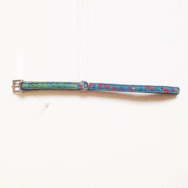 kék mini nyakörv
