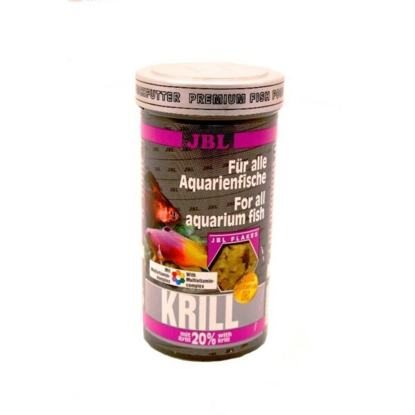 Prémium lemezes akváriumi haltáp Krill