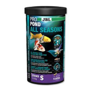 A JBL Propond All seasons S, egy prémium minőségű tavi haltáp
