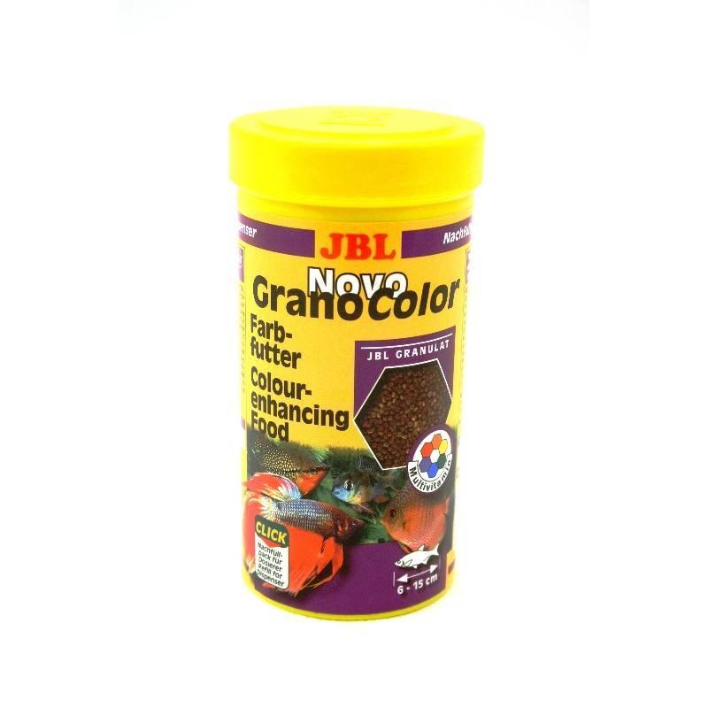 JBL Granocolor színfokozó granulált haleleség
