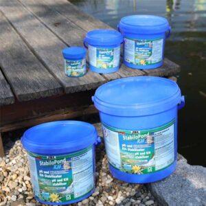 Kerti tó pH stabilizáló