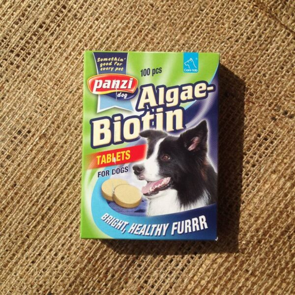 Panzi algás biotinos tabletta kutyáknak