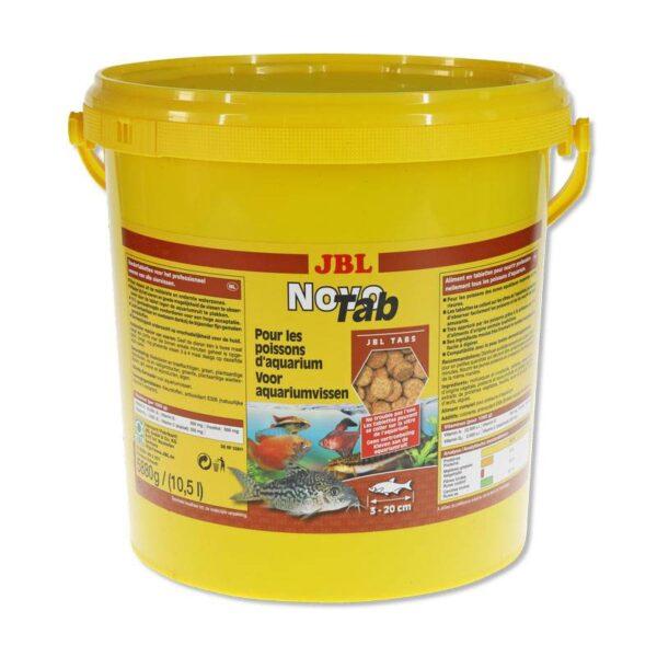 JBL Novotab 10,5l tablettás akváriumi haltáp