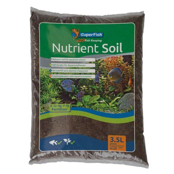 Superfish Nutrient Soil 3,5l akváriumi vizinövény táptalaj