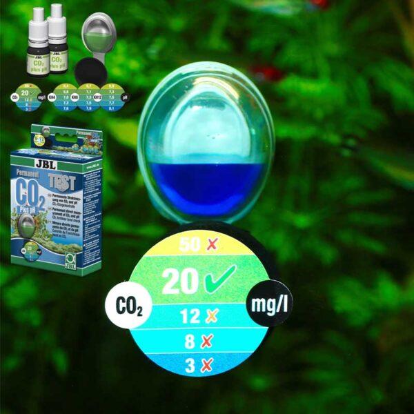 CO2 akváriumi vízteszt