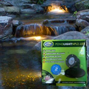 Led kerti tavi víz alatti világítás