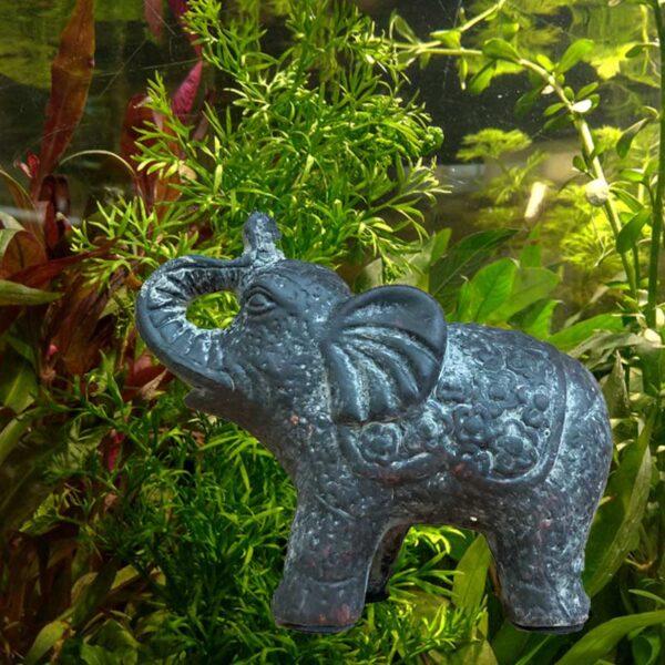 kerámia elefánt akvárium decor