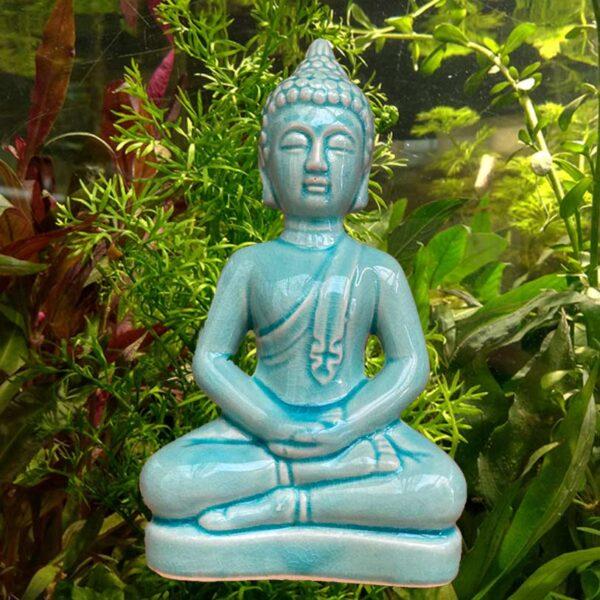 Buddha szobor akváriumi dekoráció