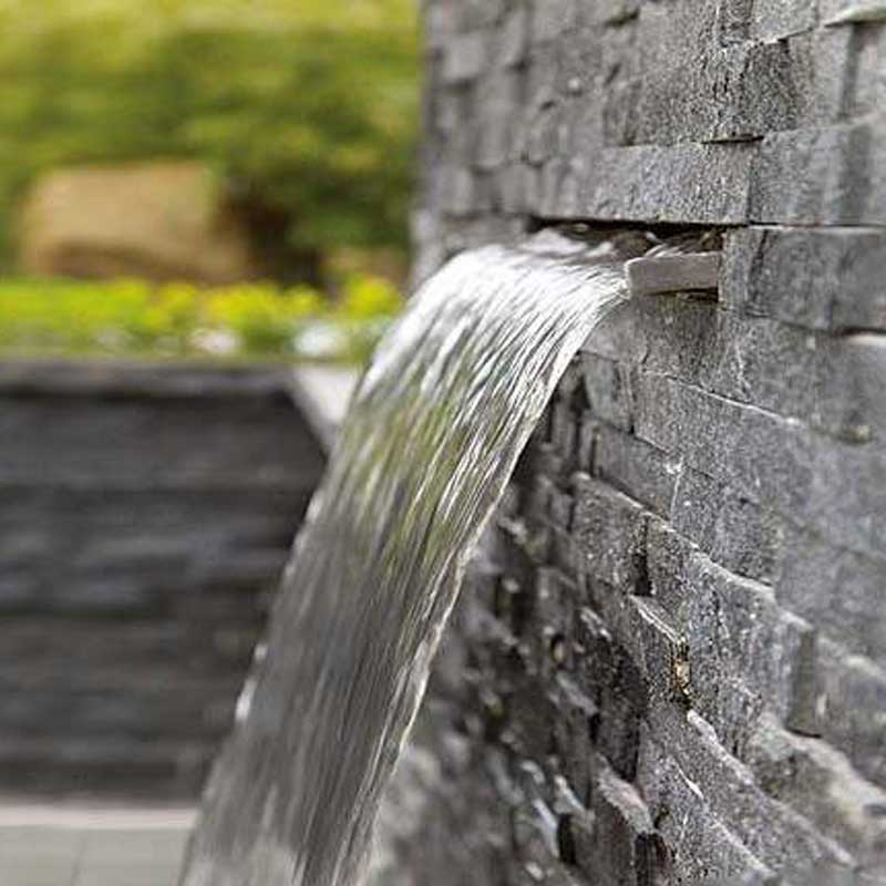 Inox vízeséselem