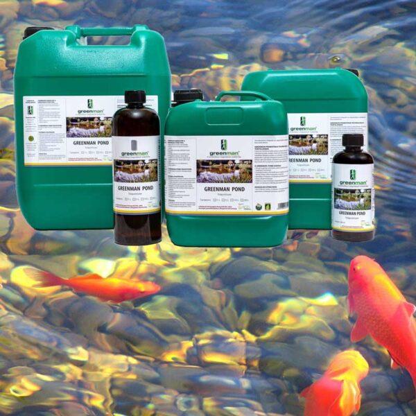 természetes kerti tó kezelő és algagátló