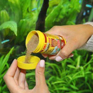 Aprószemű haleleség egészen kicsi halaknak